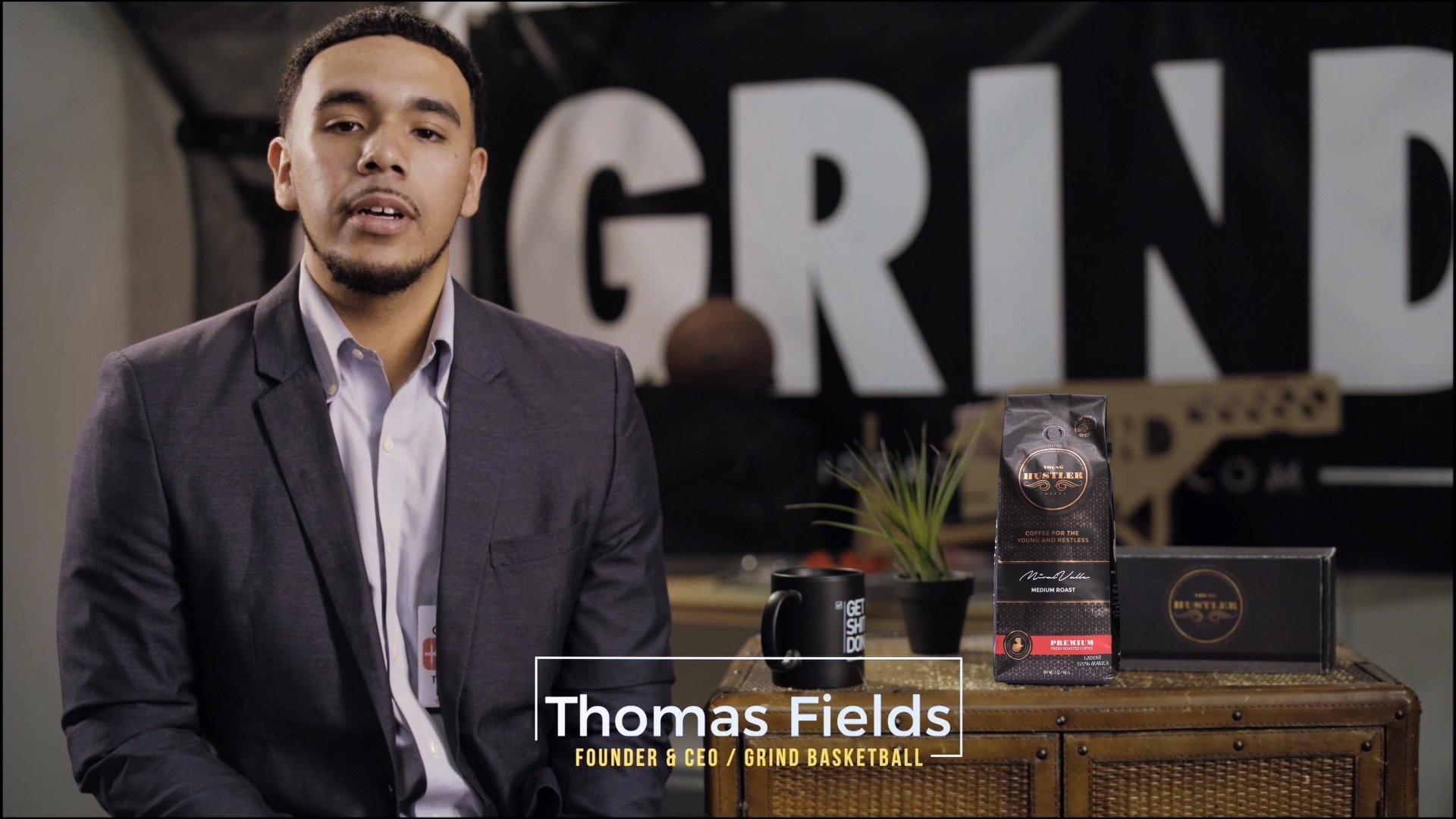 Thomas Fields Grind Basketball