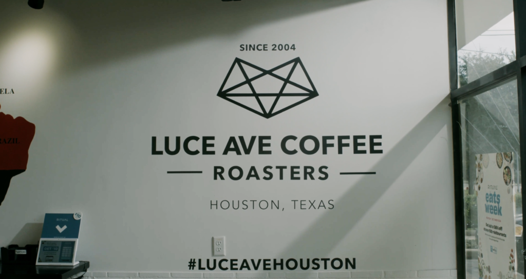 Luce Ave Roasters in Houston, Texas.
